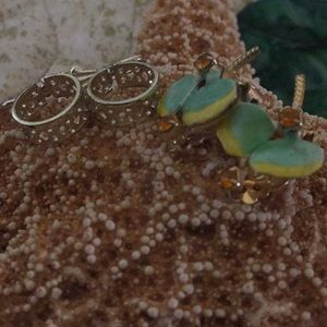Jewelry - Pair of Vintage Clip On and Pierced Earrings